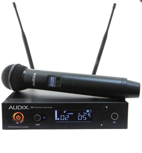 Радиосистема с ручным микрофоном AUDIX PERFORMANCE SERIES AP41 w/OM5