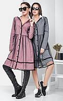 Женское легкое платье в клетку с сеткой Kentuki (разные цвета)