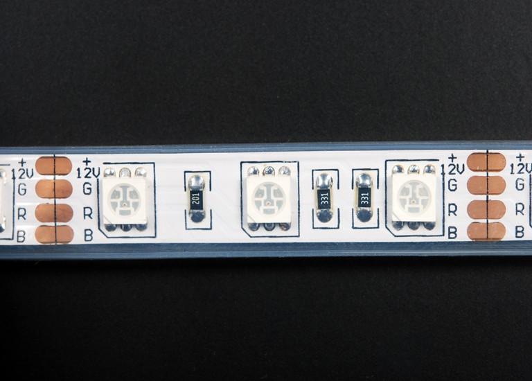 Светодиодная лента SMD 5050/60 IP68 RGB премиум