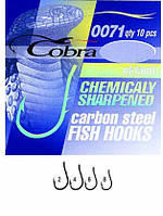 Крючки Cobra OKIAMI сер.0071BZ №2 10шт (оригинал)