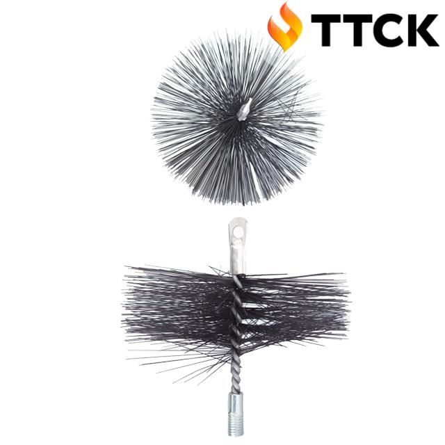 Щётка металлическая для чистки дымохода ∅ 200 мм
