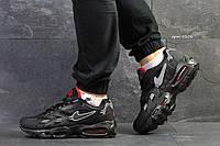 Мужские кроссовки Nike air max- 95-черные-Пресскожа,сетка,подошва пена(силиконовые подушки), размеры:41-45 , фото 1