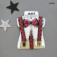 Подтяжки и галстук-бабочка для мальчика, фото 1