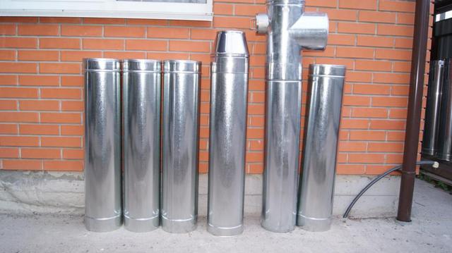 Комплект дымоход для котла отопления