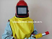 Комплект СИЗ пескоструйщика Contracor (шлем+костюм), фото 1