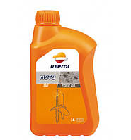 Масло для вилки Repsol Moto Fork Oil 5W, 1л