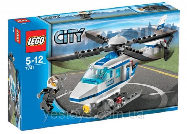 LEGO - Поліцейський гелікоптер (Полицейский вертолет) (7741)