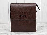 Мужская сумка через плечо Polo Videng Leather.Оригинал