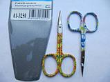 Ножницы маникюрные КDS для удаления кутикул цветные, фото 2