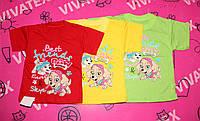 Детская футболка Патруль девочка кулир