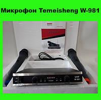Микрофон Temeisheng W-981!Акция