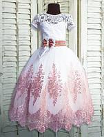 Красивое  праздничное платье  для девочек