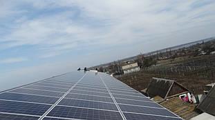завершение монтажа солнечных панелей 2