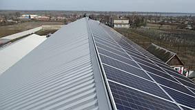 Марьянское солнечная электростанция сетевая под зеленый тариф 35,6 кВт Днепропетровская обл.