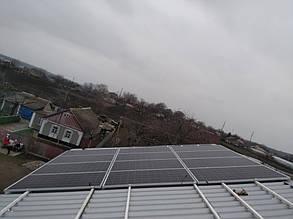 монтаж алюминиевых креплений для солнечных батарей на крышу 2