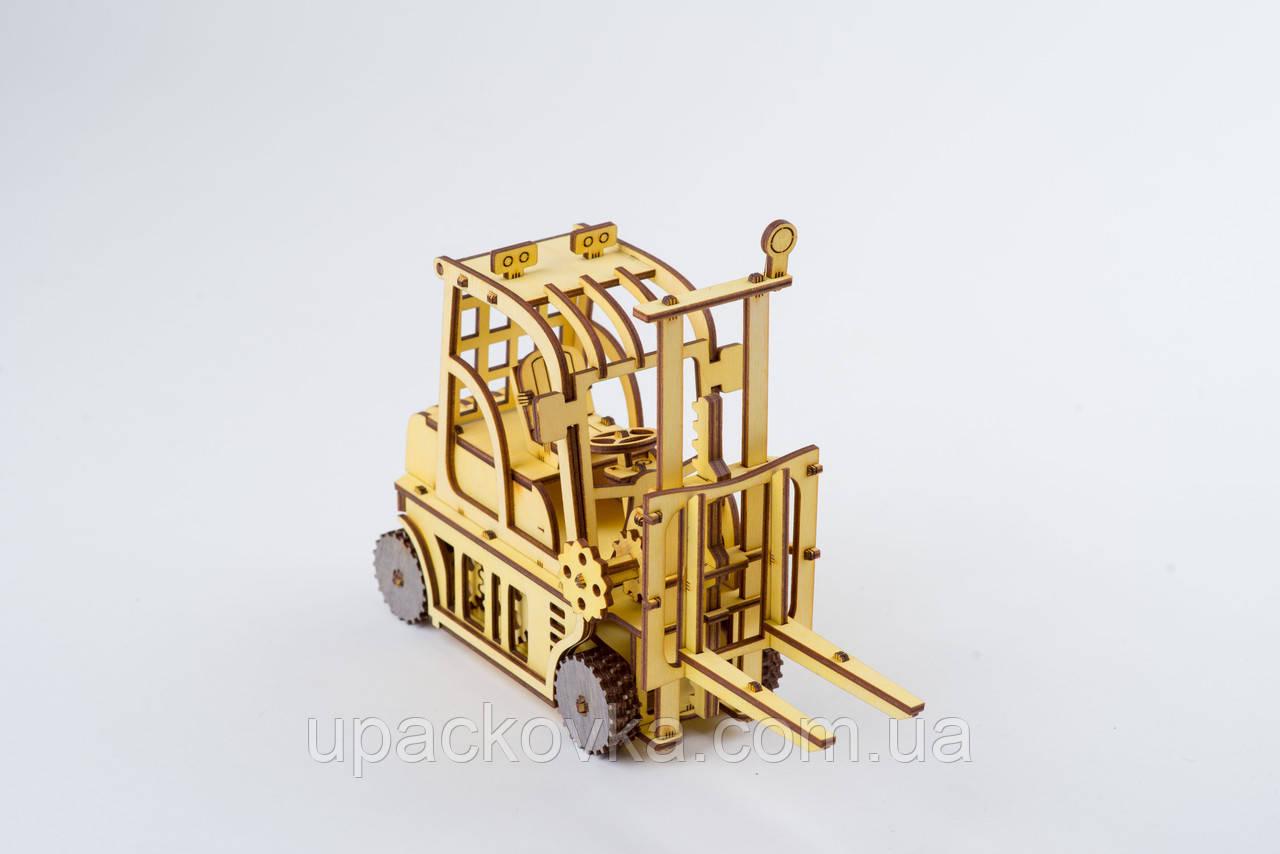3D модель деревянная Автопогрузчик