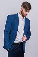 Пиджак классический мужской №276Y002 (Светло-синий)
