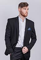 Пиджак классический мужской №276Y002 (Черный)