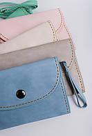 Клатч женский пастельных оттенков 000K081 (Розовый)