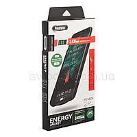 Чехол-аккумулятор Remax Penen Battery Case для iPhone 8 Plus, 7 Plus, 2400 mAh цвет: черный