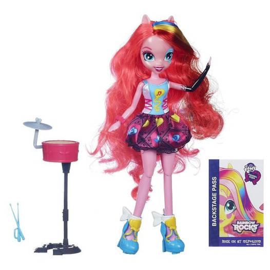 My Little Pony Лялька Пінкі Пай Рок-Зірка. Озвучена (Equestria Girls Pinkie Pie, Пинки Пай рок-звезда)