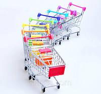 Ключница Тележка из супермаркета 12х11 см