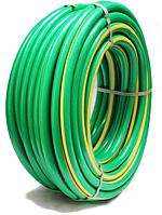 Усиленный поливочный шланг высокого давления 8 Bar рабочее давление Флора 3/4 50м зеленый