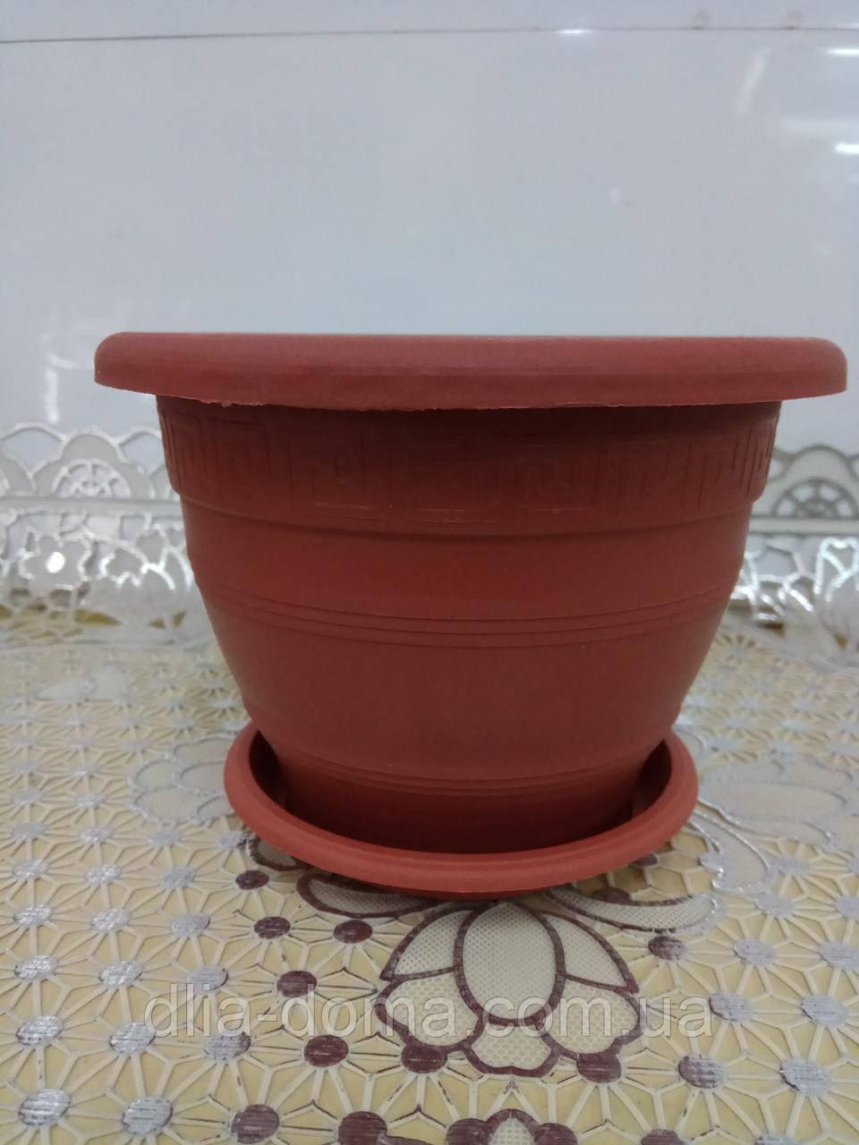 Горшок для цветов Версаче, диаметр 12 см,5101