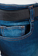 Джинсы рваные мужские 136F028 (Синий)