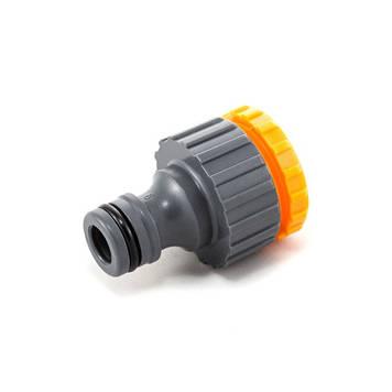 Фитинг Presto-PS адаптер под коннектор универсальный с внутренней резьбой 1/2 -3/4 дюйма, в упаковке - 25шт.