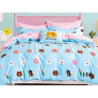 Постельное белье для малышей в кроватку 186 Viluta
