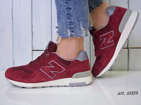 Кроссовки мужские New Balance 1400 бордовые - Топ качество ААА+, Реальные фото, Замша/текстиль, легкие, фото 2