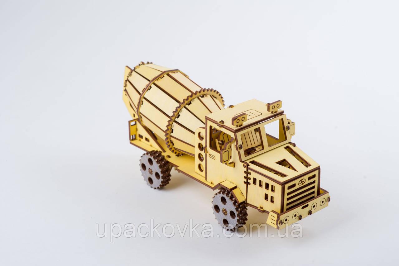 3D модель деревянная Бетономешалка