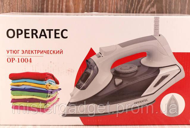Паровой утюг Operatec 1004 с керамической подошвой 2200Вт, фото 2