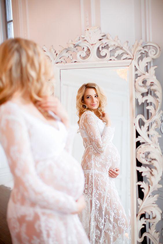 dad33125c31a Белое платье в пол для будуарной фотосессии и беременных, цена 475 ...