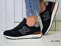 Кроссовки мужские New Balance 1400 черные - Топ качество ААА+, Реальные фото, Замша/текстиль, легкие
