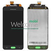 Модуль Samsung SM-G570F,DS J5 Prime black service (оригинал) дисплей экран, сенсор тач скрин для телефона смартфона