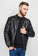 Куртка мужская стильная  712K002 (Черный)