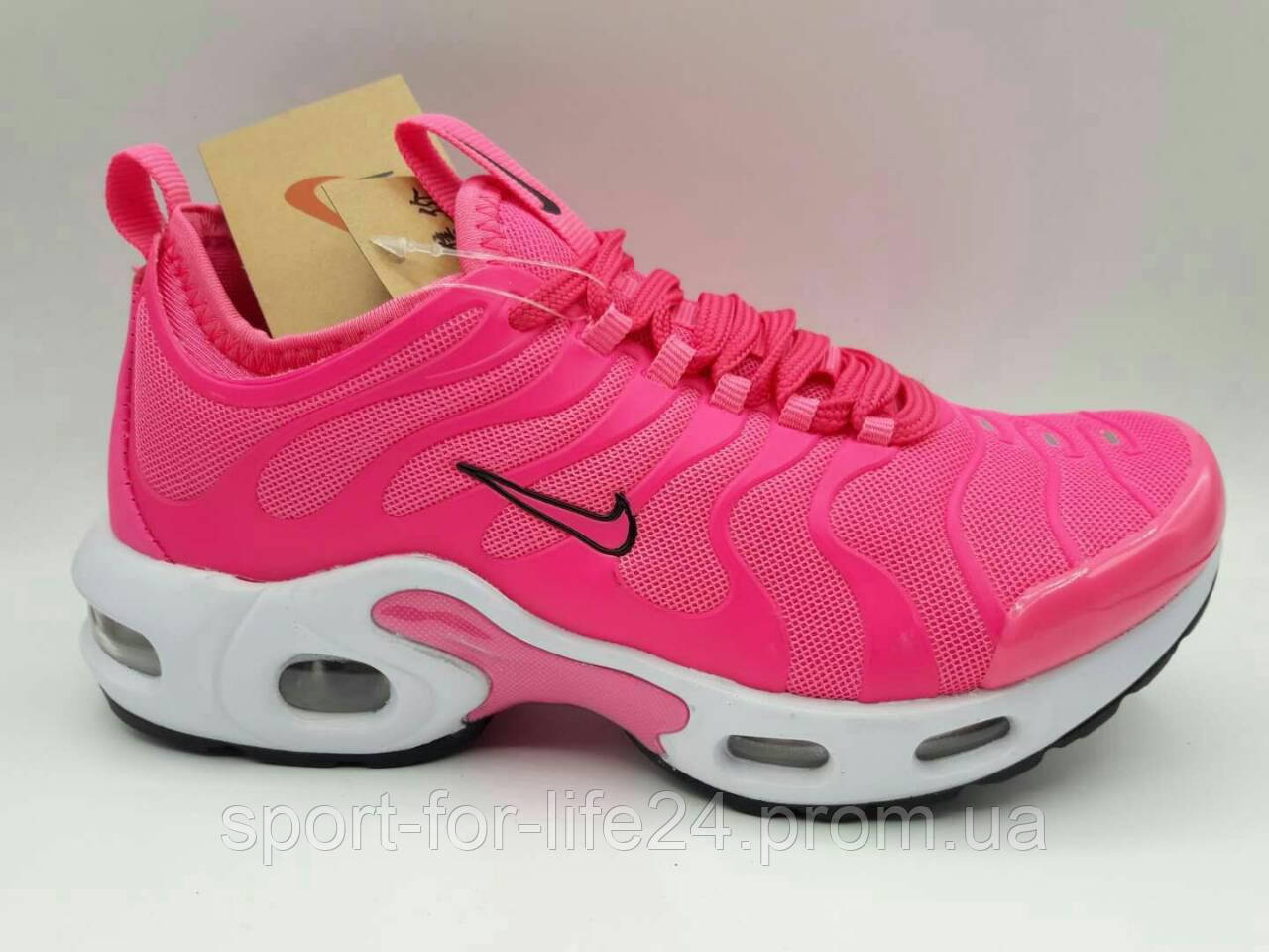 b7006152 Женские кроссовки Nike Air Max TN Plus Pink реплика - Sport for Life в  Сумской области