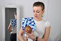 Полотенце для гигиены новорожденного, Мозайка, фото 1