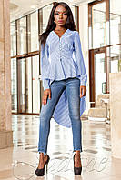 Рубашка-туника Гарсия голубой