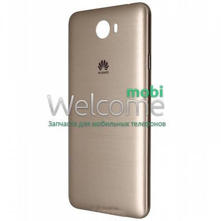 Задняя крышка Huawei Y5 II gold, сменная панель хуавей хуавэй у5, фото 2