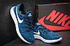Сині чоловічі кросівки Nike Lunarepic Flyknit, фото 3