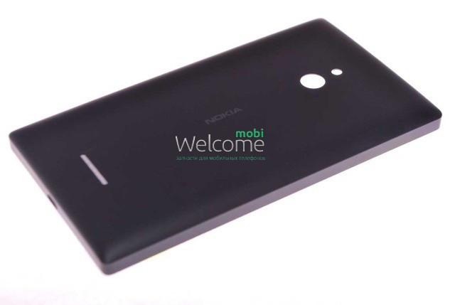 Задняя крышка Nokia XL Dual Sim (RM-1030,1042) black, сменная панель