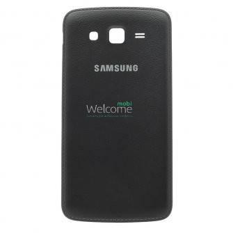 Задняя крышка Samsung G7102 Galaxy Grand 2 Duos black, сменная панель самсунг гэлэкси гранд, фото 2