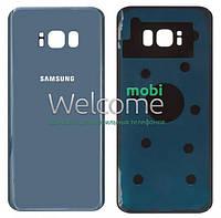 Задняя крышка Samsung G955F Galaxy S8 Plus (2017 blue (Coral Blue), сменная панель самсунг