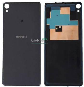 Задняя крышка Sony F3111 Xperia XA,F3112,F3113,F3115,F3116 black, сменная панель сони иксперия, фото 2