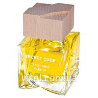 """Освежитель воздуха Tasotti (16/48)-10 аэрозоль """"Secret Cube"""" Vanilla French (ваниль), объем 50 мл, освежитель воздуха для авто, освежитель для машины"""