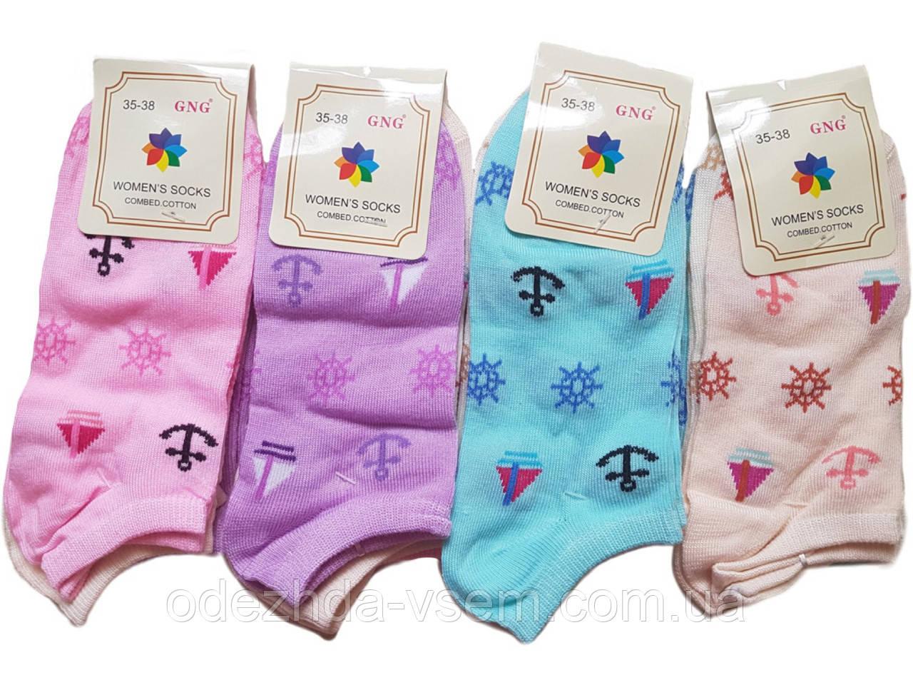 Женские носочки с Якорями