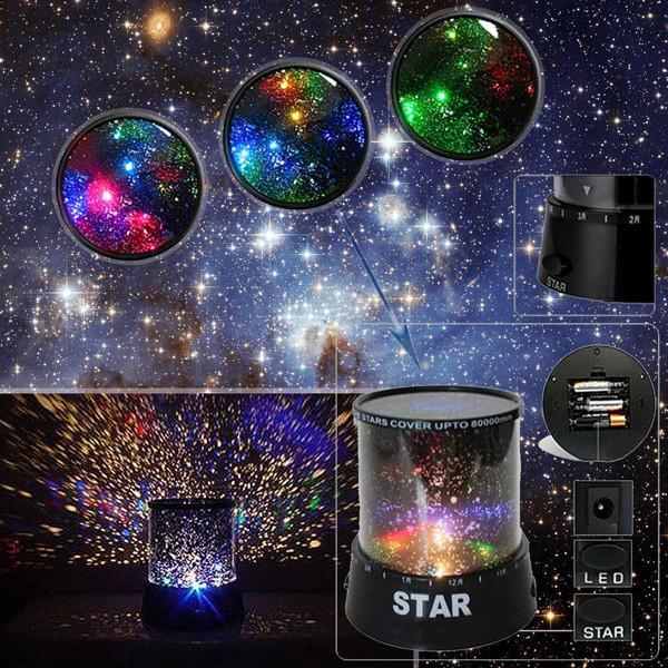 Ночник проектор Star master